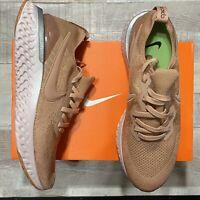Nike Epic React Rose Gold Flyknit 2 Men's Running Shoes Size 12.5 BQ8928 600