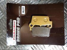 SEMI METAL REAR BRAKE PADS FOR SHERCO SE 510 iR (Rear Nissin Caliper) 12 R