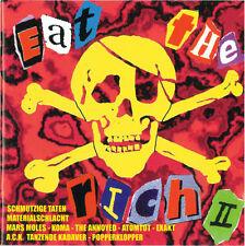 EAT the Rich vol.2 Sampler CD (1997 Nix bene) NUOVO!