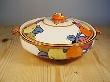 Charlotte Rhead Bursley Ware Lustre Fruit Pattern Serving Tureen 772 (1)