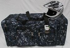 XL Moto x atv mx gear bag motocross off road mx  snowmobile digital navy camo