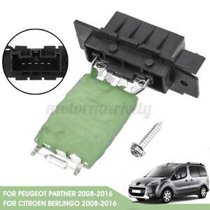 Heater Blower Resistor For Citroen Berlingo Peugeot Partner 2008-2016 6480.55 UK