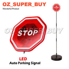 Led Flashing Light Car Parking Guide Garage Park'n Place Stop Sign AU STOCK