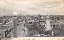 NUEVO LAREDO, MEXICO ~ TOWN & STREET OVERVIEW, REAL PHOTO PC ~ used 1941