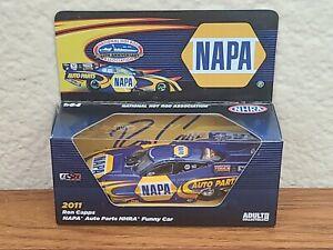 2011 Ron Capps NAPA Auto Parts Funny Car 1/64 NHRA Autoworld Diecast