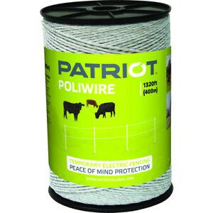 Patriot - Poliwire - 1320' - White
