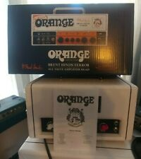 "Orange Amplifiers Brent Hinds Terror. Clean.""Dirty.""1/2 power.Standby.Attenuator"