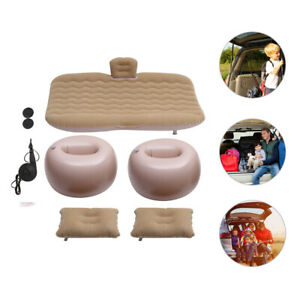1 Set Convenient Safe Multifunctional Inflatable Bed Inflatable Mattress