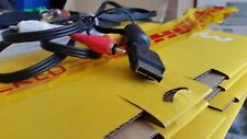 Sony PlayStation Ps1 Ps2 PS3 Official Genuine AV Rca Tv Cable Lead Scart vgc