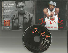 JA RULE w/ LIL MO Put it on me w/ RADIO EDIT & INSTRUMENTAL PROMO DJ CD Single