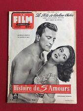 """1955, Kirk Douglas, """"LE FILM COMPLET"""" Magazine (Scarce)"""