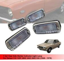 1 Set Clear Side Maker Light Use Datsun 510 120Y 280Z 240Z 260Z 1968-1978