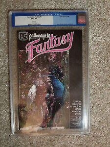 CGC 9.6 Pathways to Fantasy #1 NM+ Pacific Comic Barry Windsor Smith WHITE PAGES