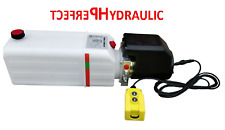 Pompa centralina idraulica 12V 180 bar 2 KW camion, ribaltabile, rimorchio