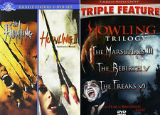 The Howling Horror Movies Series Complete 5 MOVIE (1 2 3 5 6) BRAND NEW DVD SET