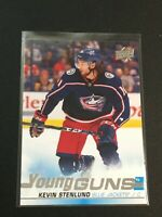 F60247  2019-20 Upper Deck #211 Kevin Stenlund YG RC YOUNG GUNS BLUE JACKETS