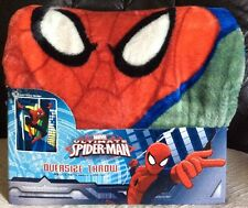 Spiderman Ultimate Oversize Throw Blanket  ~ 78 x 59 Inches