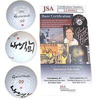 Wayne Gretzky Signed Tournament Used 99 Taylor-Made Golf Ball JSA Cert Autograph
