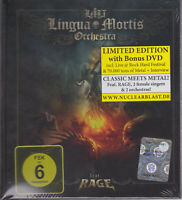 LINGUA MORTIS ORCHESTRA 2013 CD/DVD - LMO (Ltd. Digibook) Rage/Almanac - NEW