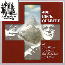 "JOE BECK QUARTET CD "" Live In Biel Switzerland "" Live, 2001 Jazz Gutar"