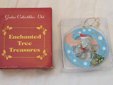 New Dumbo Elephant Disney Christmas Ornament by Grolier Enchanted Tree Treasures