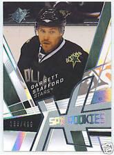 08-09 UD SPX #124 Garrett Stafford Rookie RC #/499