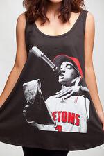 Eminem Slim Shady Rapper DJ 02 Rap Retro WOMEN Dress TANK TOP T-SHIRT Size M L