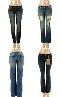 Lot Women Denim Skinny Boot-Cut Vintage Short & Long Jeans 0 2 4 6 8 10 12 14 16