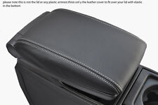 white stitch FITS VOLVO V70 XC70 00-07 LEATHER ARMREST COVER ONLY