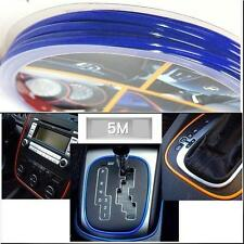 CAR DASH PARTS DECORATION TRIM MOULDING 4MM(W) X 5M(L) DEEP BLUE