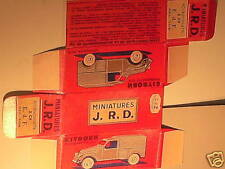 REPLIQUE BOITE CITROEN 2CV EDF FOURGONETTE1955 JRD