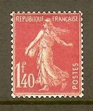 "FRANCE STAMP TIMBRE N° 196 "" SEMEUSE FOND PLEIN 1F40 ROSE "" NEUF xx TTB"