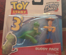 Disney Pixar TOY STORY 3 Buddy Pack Rex and Woody New in Package