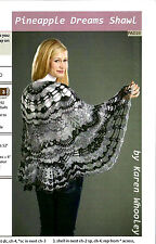 PINEAPPLE DREAMS CROCHETED SHAWL by KAREN WHOOLEY of KRW KNITWEAR & FIBER TRENDS