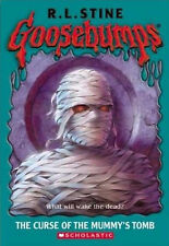 The Curse of the Mummy's Tomb by R. L. Stine (Paperback,2003)-9780439568272-G058