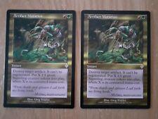 Magic The Gathering Cards - Invasion - Artifact Mutation x 2
