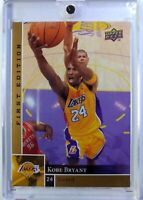 2009-10 Upper Deck First Edition Gold Kobe Bryant #69, Parallel, Lakers, Mamba