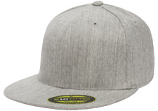 Flexfit 210 Premium Flat Flatcap S/m Heather grau