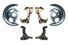 Brake Conversion Kit-Mini Kit Spindles Backing Plates Caliper Brackets Front