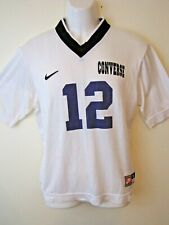 VTG Team Nike Sports Jersey USA Size Small V-Neck White Converse #12 Athletic