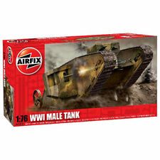 AIRFIX A01315 WW I Male Tank 1:76 1:76 Model Kit Tanks