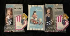 2 World of Ginny Vogue Dolls Sasson 1981 Hairstyles Disco Roller Skates & Moped