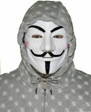 V for Vendetta Guy Fawkes Costume Cosplay Mask for Halloween Masquerade Party