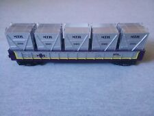 MTH O/O27 Gauge Railroad Club 2004 Gondola w/ LCL Containers #30-7267 ~ TS