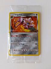 Pokemon Sun & Moon Solgaleo Cosmic Eclipse Promo Holo 142/236 STAMP