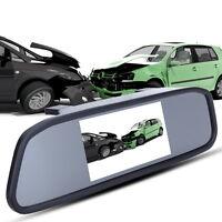 """4.3"""" TFT LCD voiture arrière vue sauvegarde miroir moniteur + Caméra de recul IR"""