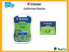 ($0 P & H) Genuine Verbatim Compact Flash Camera Card 2gb CF P/N 47012