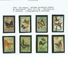 1970 National Butterflies series of Malaysia Lot A