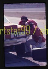 Terry Ryan #81 Chevy in Pits - 1976 NASCAR Daytona 500 - Orig 35mm Race Slide