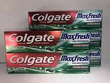 5 Colgate MaxFresh Toothpaste,Clean Mint,  Whitening & Breath Strips, CLEARANCE
